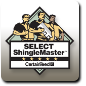 All American Exteriors is a Certainteed SELECT ShingleMaster.