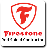 All American Exteriors is a Firestone Red Shield Contractor.